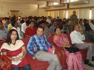 A part of audience