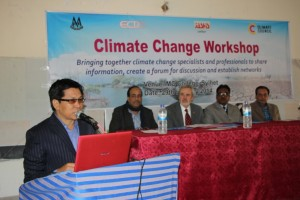 Executive Director of ECDO, Mr. Lakshmikanta Singh, gaving an introductory speech