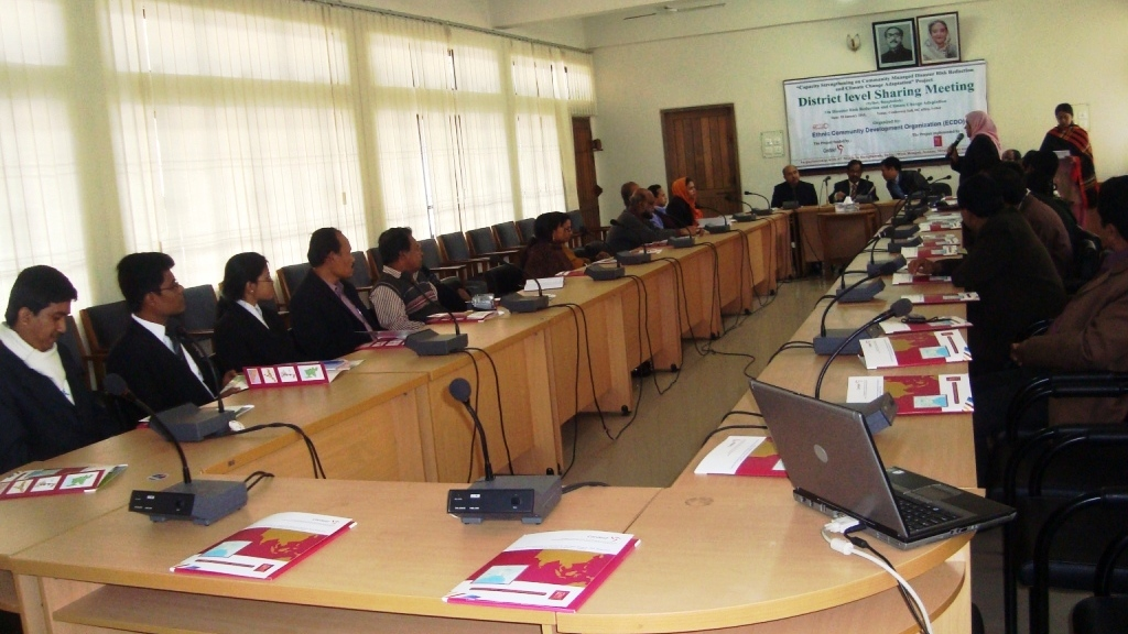 Participants of District level sharing meeting